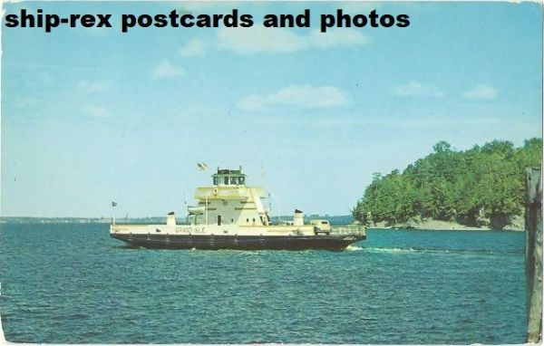 GRAND ISLE (Lake Champlain Transportation) postcard (b)